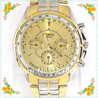 free shipping 1pcs/lot Popular Round Big Dial Men Man Male Analog Quartz Business Gift Wrist Watches