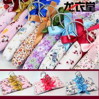 Long clothing child type 100% cotton print cloth hanger fabric cartoon rustic