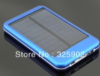 high quality full power 5000mah solar panel charger External Battery for all phone
