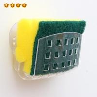 6627 bathroom sponge suction cup storage shelf storage rack