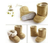 Retail winter warm Thick kids shoe Baby snow boots baby girls and boys cotton shoes
