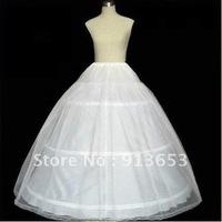 NEW Petticoat Crinoline 3-Hoop-1Layer BRIDAL dress PETTICOAT/CRINOLINE UNDERSKIRT Bridal Accessories