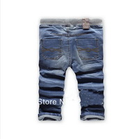 Free shipping fashion cool cotton denim boys jeans brand children's long pants for 2-10 years kids girls pants