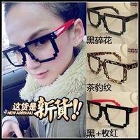 5Pcs/Lot Antique Square Shape Eyeglasses Frame Super Star Glasses Frame Free Shipping