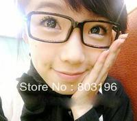 5Pcs/Lot Super star style petit Eyewear frame myopia elegant black plain eyeglasses frame Free Shipping