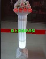 1.1 meters plastic roman column translucidus wedding props decoration 2pcs/lot