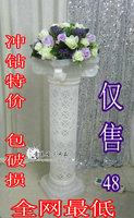 Plastic roman column roman pillar wedding road lead 10 sets in 1 lot