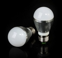 CREE Free shipping 2X Dimmable Bubble Ball Bulb AC85-265V 9W/12W/15W E14 E27 B22 GU10 High power Globe light LED Lighting