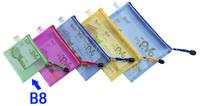 Free Shipping Mesh zipper bag mesh bags bulk of money bag edge bags small type 5pcs/set