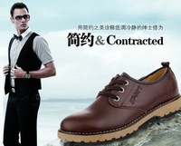 2013 new authentic tendon , lace everyday casual shoes men , free shipping