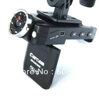 Security 8 LED Night Vision 2.0 LCD Vehicle Car Camera Video DVR Recorder Car DVR P6000 Free Shipping