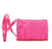 H1517 MINI harajuku Pink Nylon Purse handy Sling Bag wallet Free shipping wholesale dropshipping