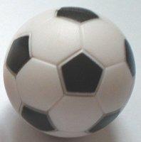 FASTER shipping 10pcs/lot black&white 32.5mm Foosball table soccer table ball football balls baby foot fussball