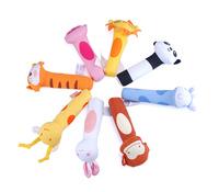 Lovely Baby toys Hand bell Animal Model Long Handbell educational Developmental Toy