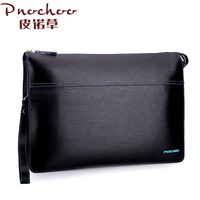 Male clutch cowhide large capacity commercial envelope bag briefcase day clutch 2013 men's clutch t