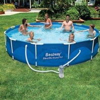 Adult Swimming Pool Diameter 366 cm Height 76 cm Tarpaulin Support Inflatable Swiming Pool All Accessories