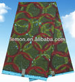 Wholesale cotton new african printed wax fabric 6 yards free shipping(China (Mainland))