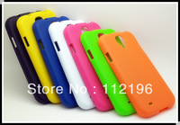 Abrasion TPU Skin Soft Gel Case Cover for Samsung Galaxy S4 i9500 Wholesale 500pcs/lot Free shipping