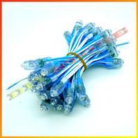 Wholesale 500pcs IP68 Waterproof LED Modules DC5V 9mm LED Pixel Lamp LED Exposed Light String Blue-10000585