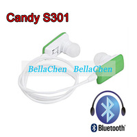 New candy color S301 stereo Bluetooth Earphone Headset Headphone  binaural listening to music mobile phone+Call phone