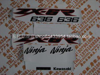 Df df KAWASAKI kawasaki 636 zx-6r 636 the whole car stickers