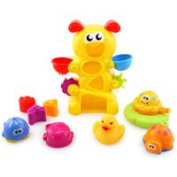 Bath set duck young children baby ages large child bath toys eco-friendly 3c