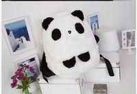 NEW CUTE PANDA BACKPACK PLUSH SHOULDER HAND COTTON BAG
