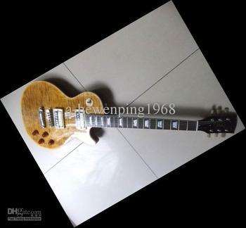 Free Slash Hardcase Newest SLASH Signature Electric Guitar in Beer Root Brown Burst 2011 06