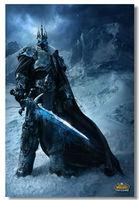 WOW World of Warcraft Silk Wall Poster 36x24,18x12 inch Boy Room Prints Cataclysm Wrath Lich King Mists Pandaria MOP (041)