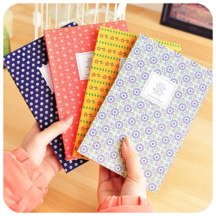 Polka dot love laptop sleeve small fresh notepad diary(China (Mainland))