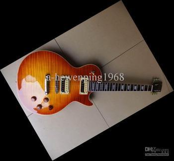 20101210 Slash Signature MODEL Vintage Sunburst Electric Guitar