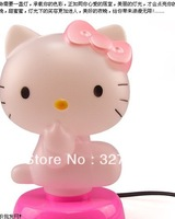 Hello Kitty table lamp Night Lights 220V pink color