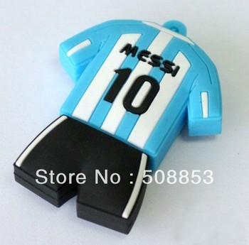N113 Wholesale enough cartoon jersey 4GB 8GB 16GB 32GB USB 2.0 Flash Memory Stick Drive Thumb/Car/Pen Free shipping