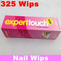 325 Pcs/Box Professional Lint Free Nail Wipes Soft Cotton Nail Wipe Polish Remover + Free Shipping