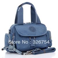 Free shipping 2013 new portable nylon cloth shoulder bag diagonal package Mobile Messenger bag