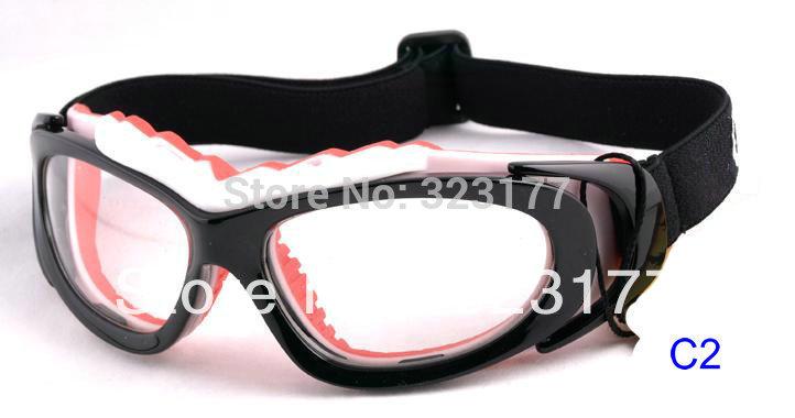 New Design Basketball Glasses Prescription football Goggles Anti Impact RX Sports Eyewear Soccer Dribbling Free shipping(China (Mainland))