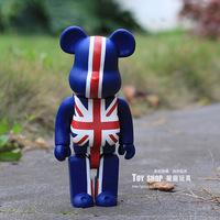 Best Selling Bearbrick British Style 400% Large Size Decoration Doll Toy Birthday Gift