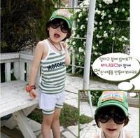 2013 Newest Gafas de Sol Round Plastic Designer Brand Korea Vintage Kids Sunglasses Luxury UV400 Wholesale Lunettes de Soleil