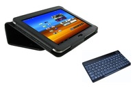 2in1 New Leather Stand Cover Case  with a bluetooth keyboard for Samsung Galaxy Tab 8.9 GT P7300 P7310