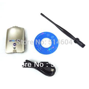150M Wireless Lan Adapter (High power 500MW) usb 802.11b/g/n wholesale 8 pcs free shipping drop ship