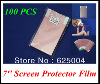 100PCS 7 inch 153*92mm LCD screen protector screen protective film screen guard for 7'' GPS naviagrtor, tablet pc, PDA, MP5