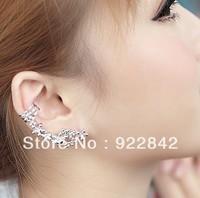 female earrings birthday gift female unique small flower long stud earring in ear earrings