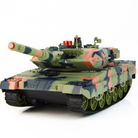 Rc tank car remote control car tank automatic rotary electric toy