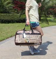 free shipping  Large capacity waterproof travel bag fashion one shoulder handbag luggage male Women