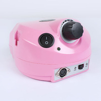 Free shipping Pink Professional 110V Electric Nail Drill Machine Manicure Art Acrylic