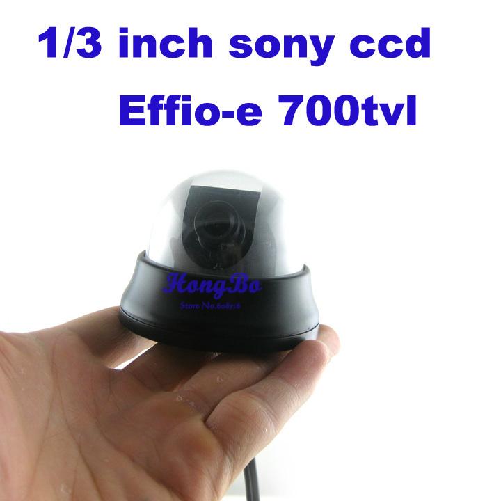 "security camera Effio-e 700TVL 1/3 ""sony ccd surveillance cctv camera small camera(China (Mainland))"