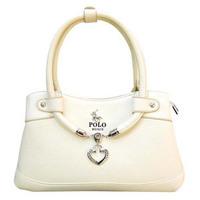 Promotions!  2013 new fashion handbags, POLO handbag peach heart style Lady Bag 5 color