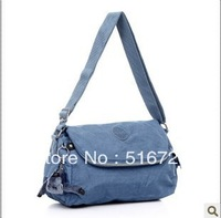 Free shipping European and American Fan trade handbags lightweight nylon bag casual shoulder bag Messenger bag big classic tide