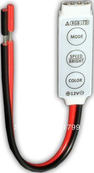 R101-S;Mini 3-Key RGB LED controller;DC12V input