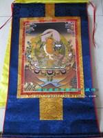 Buddha thangka exquisite bodhisattva thangka 90cm . bronzier thangka